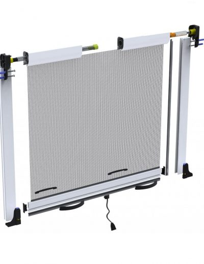 HORIZONTALY MOVING FLY SCREENS