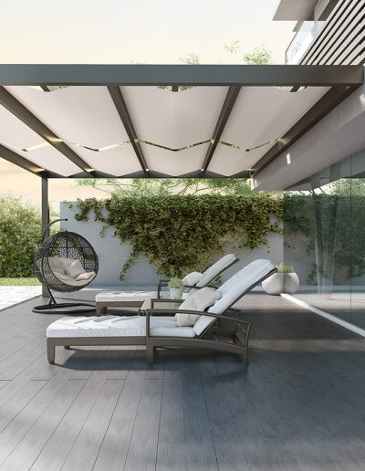 SHADING – ATRIUMS – PERGOLAS